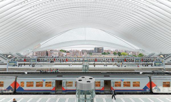 Gare de Liège-Guillemins, Belgium