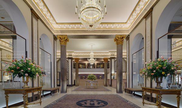 Grand Hotel Lobby, Stockholm