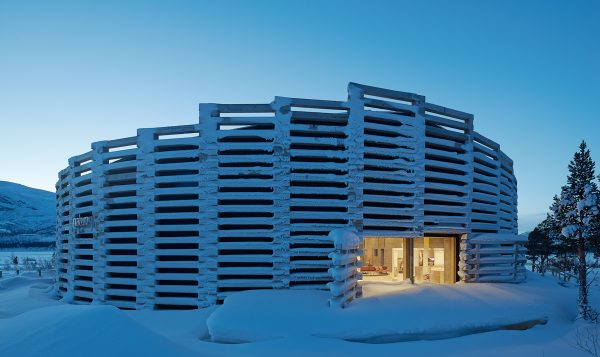 Naturum Laponia, Stora Sjöfallet