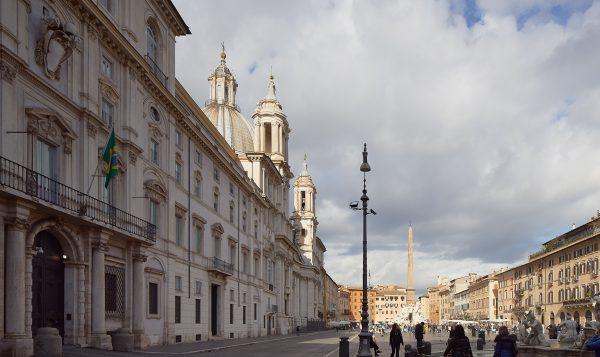 Palazzo Pamphilj, Piazza Navona, Rome