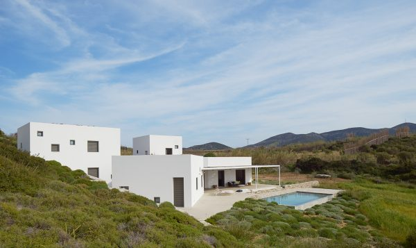 X-house, Antiparos, Greece