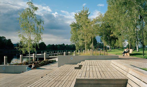 Sandgrundsparken, Karlstad