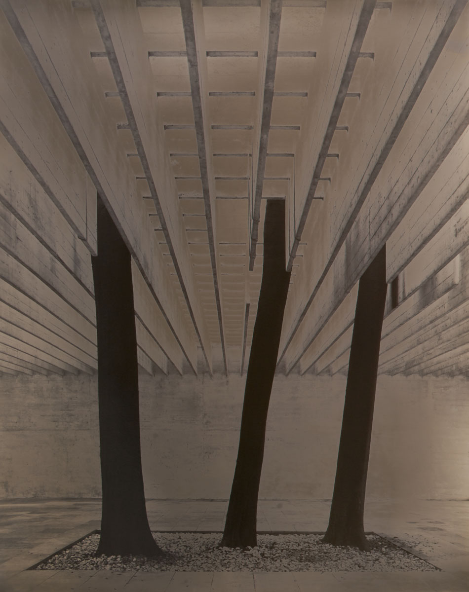 Noedic Pavillion, Venice. architect: Sverre Fehn 49,3 x 39,5 cm