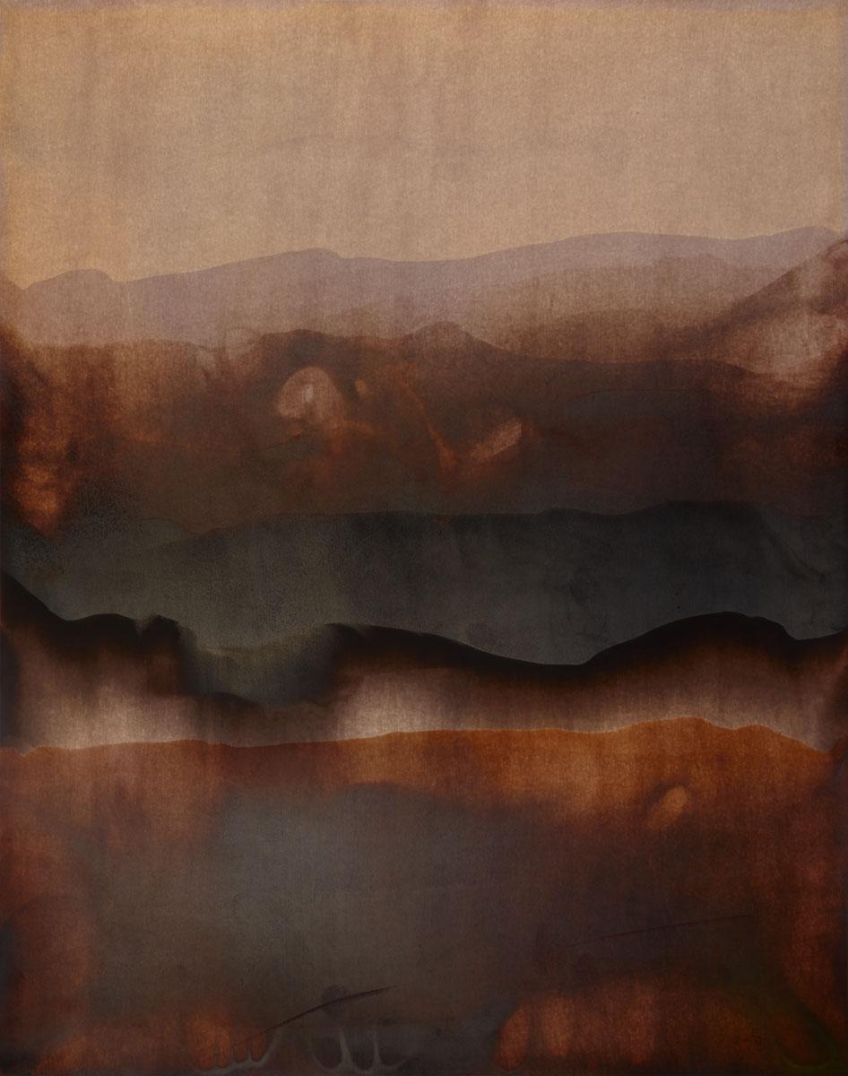 Terra Ignota # 371. 49 x 39,2 cm.